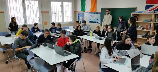 Presentaciones del concurso mundial Google Code-in en escuelas e institutos de Lleida