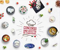Logo Concorso ''Una ricetta da condividere'': vinci fornitura di prodotti Francia Latticini