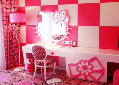 Kamar Tidur Hello Kitty Untuk Anak Anda Let S Adventure
