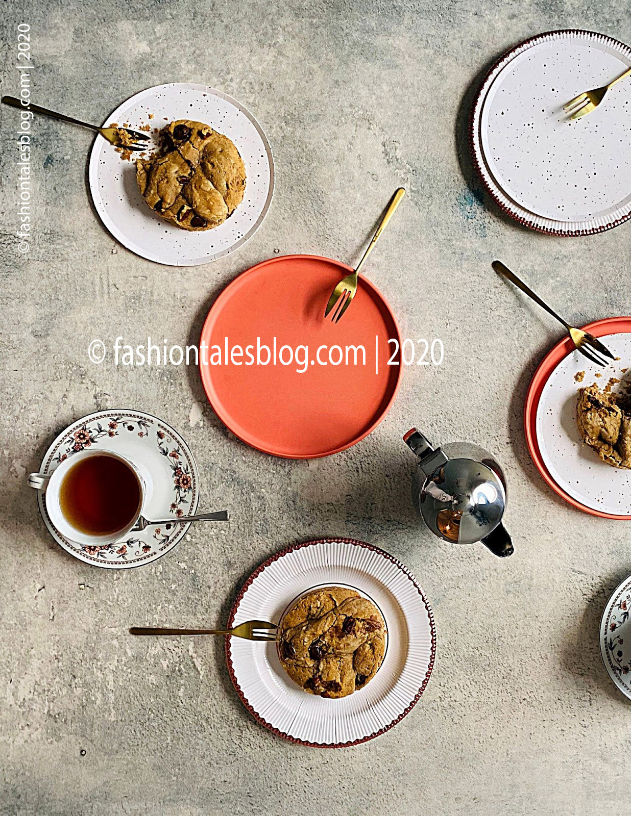 Food photography teatime