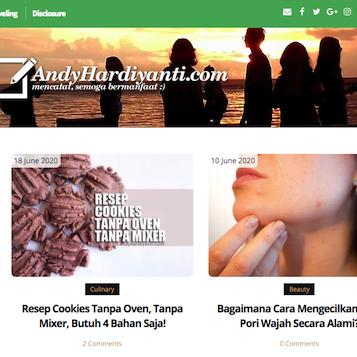 Mengintip Sukses Monetasi Blog dari Andy Hardiyanti (Blogger Lombok)