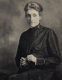 Annie Goodrich was influential in national and international nursing issues