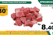 Promo Lebaran Daging Rendang Di Giant Ekstra dan Ekspres Mei 2020