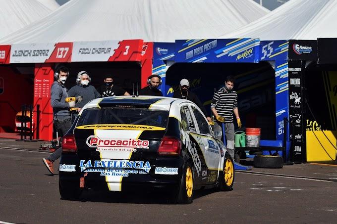 Ignacio Procacitto logró llegar décimo en Concepción del Uruguay y subió en la tabla de posiciones de la Clase 2