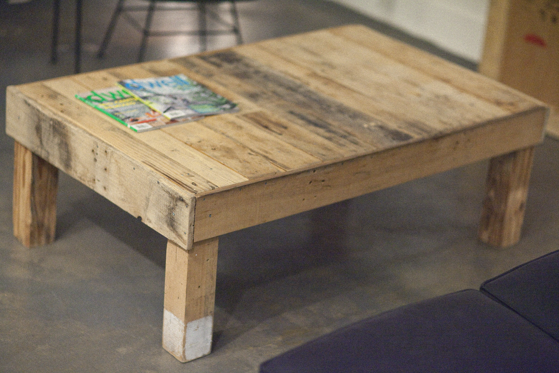 Wood Pallet End Table Plans