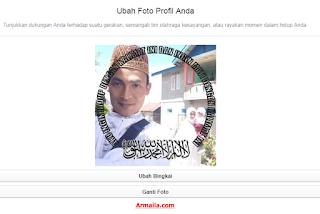 Bingkai Foto Facebook Kalimat Tauhid