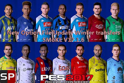 New Option File Winter For SMoKE Patch V17.1.6 - PES 2017
