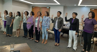Women in Literary Arts WILA Cebu Oath of Commiment