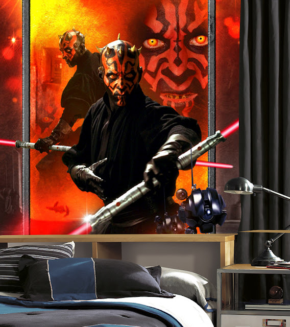 Star Wars Tapetti Darth Maul