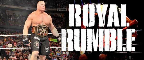 Brock Lesnar WWE Royal Rumble 2016