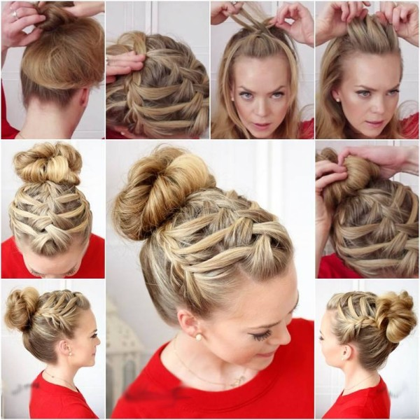 Best And Easy Hair Styles For Eid Parties. ~ Style In Life