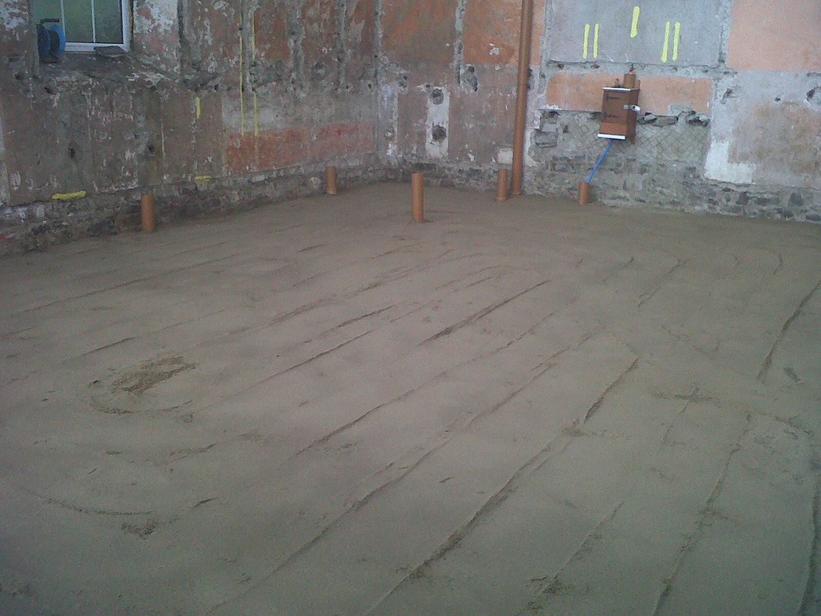 Amroth Project Ground Floor Slab Reinforcement Radon