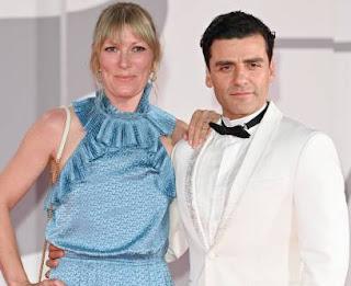 Oscar Isaac with his wife Elvira Lind