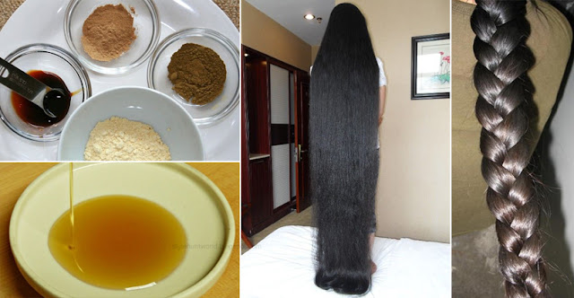 How To Get Long Hair Very Fast With This Magical Formula