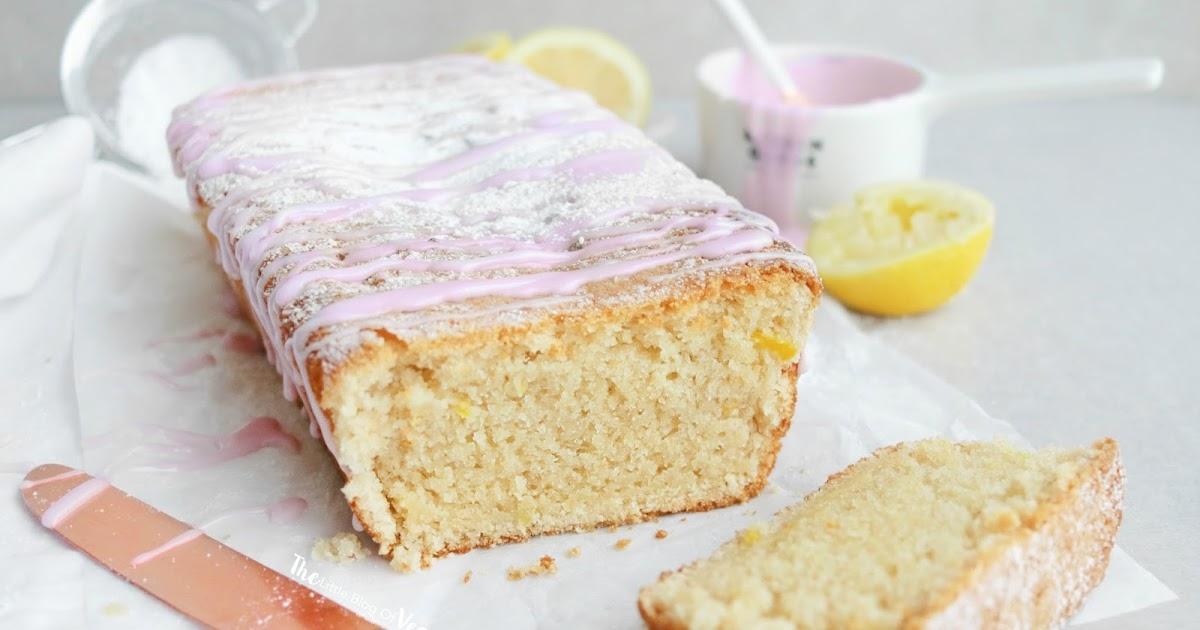 Light Fluffy Lemon Drizzle Cake