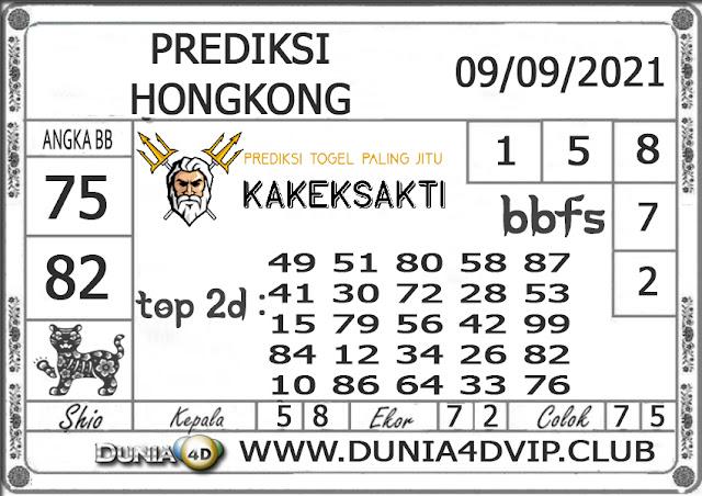 Prediksi Togel HONGKONG DUNIA4D 09 SEPTEMBER 2021