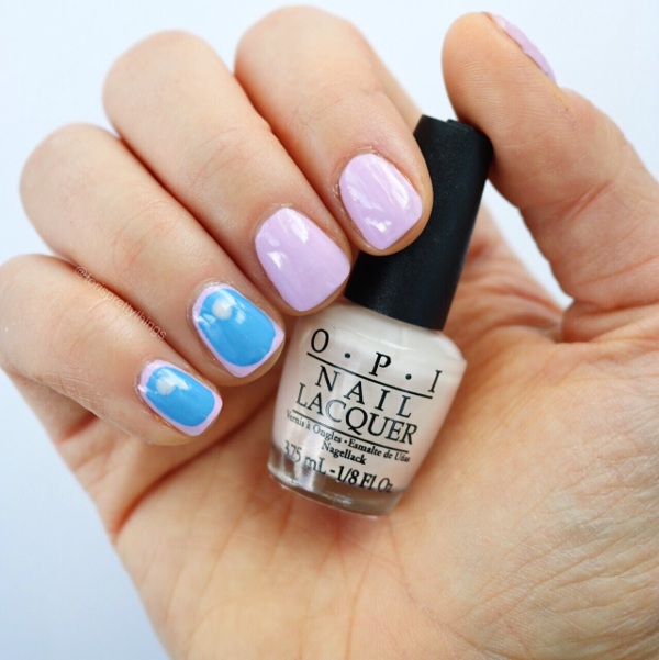 Opi Step Right Up Abstract Spring Nail Art - Tori's Pretty Things Blog