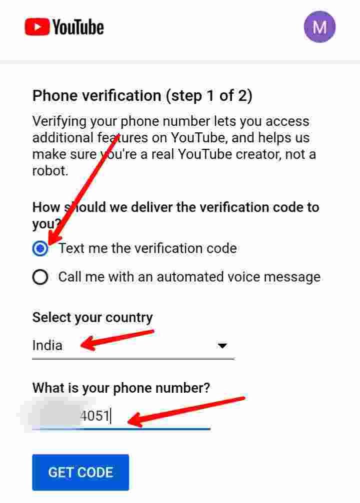 Mobile se youtube channel verify kaise kare