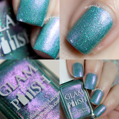 Glam Polish Chaos │ A Fan Group Custom Shade
