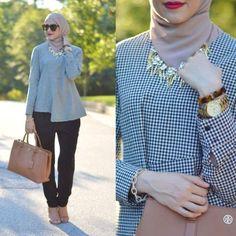 Sélection de Style Hijab chic et moderne pour Aller Au Bureau