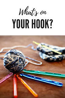 What's On Your Hook? - Crazy Crochetin' Mama #crochet #knitting #whatsonyourhook