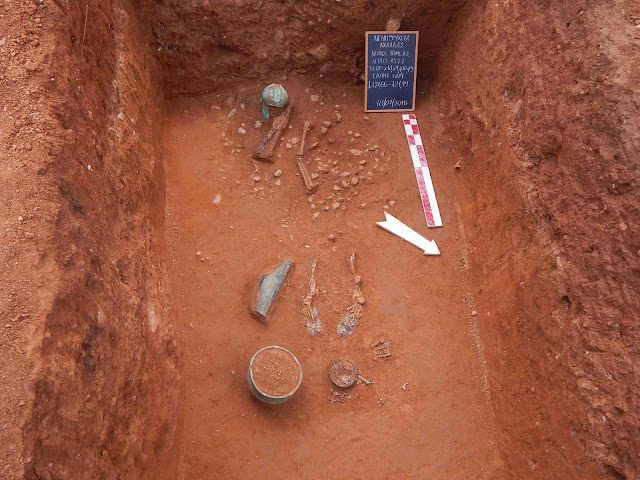 Archaic-era cemetery unearthed in northern Greece