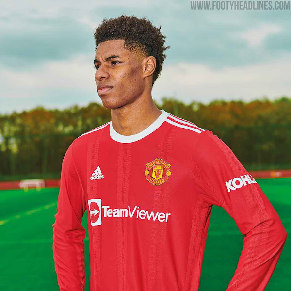 Manchester United 21 22 Home Kit Released Footy Headlines