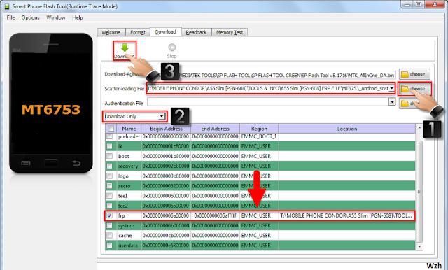 condor phone frp unlock file