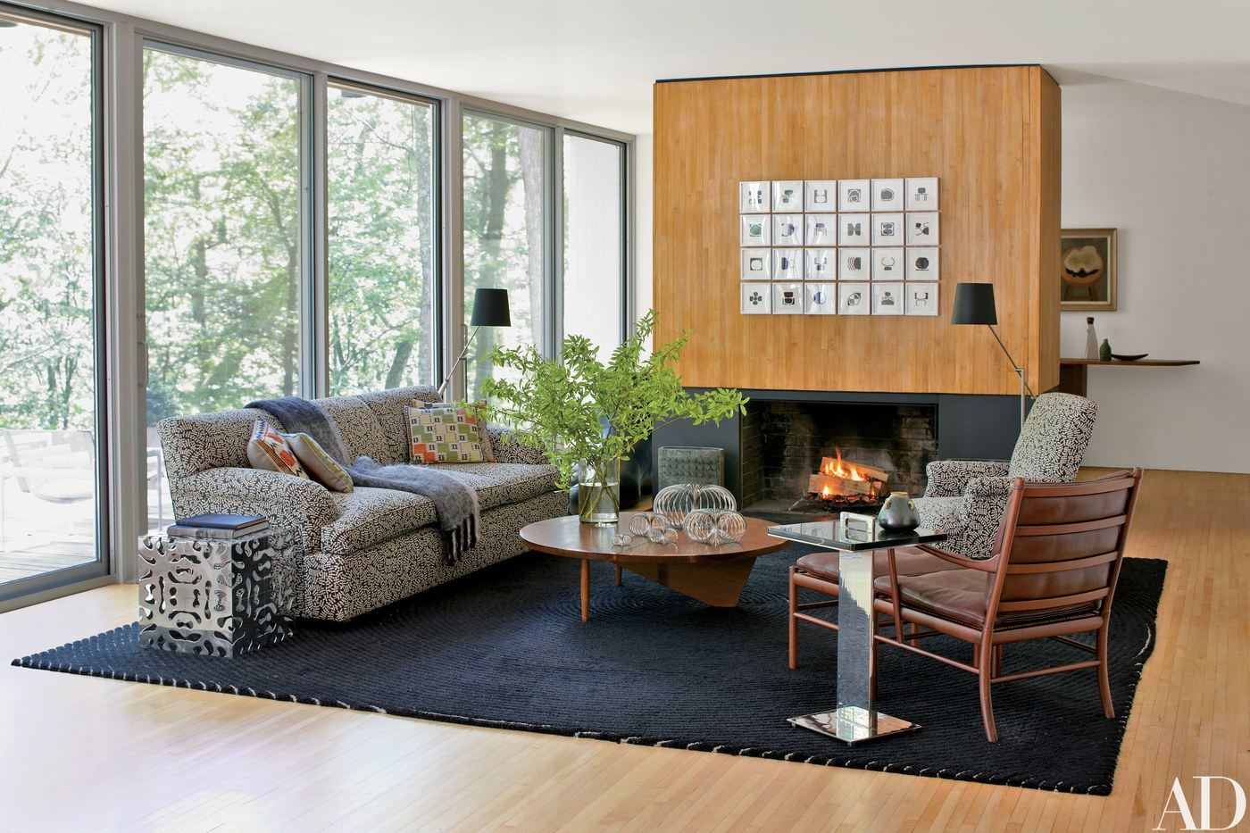 Detalhes do c u uma casa moderna em connecticut for Casa moderna 2017 espositori