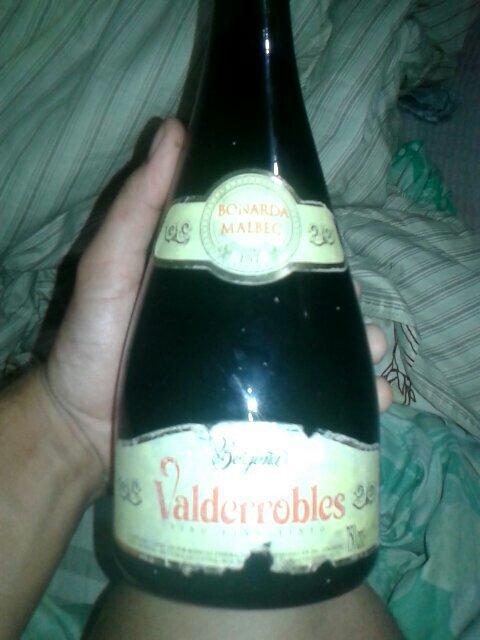 Valderrobles Vino Bonarda Malbec Argentina