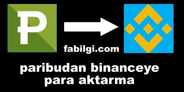 Paribu Sitesinden Binance Hesabına Nasıl Coin Transfer Edilir?