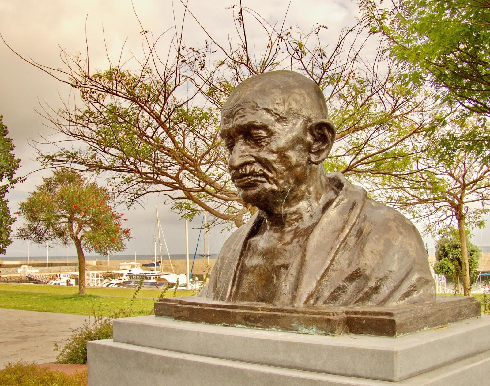 Gandhi voltou para a Madeira em 2019