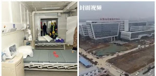 China Builds Hospital For Corona Virus In 8 Days (Photos)