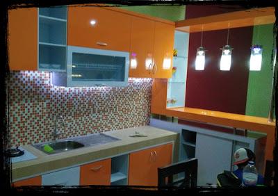 Desain interior area kediri, desain kitchen set murah kota kediri