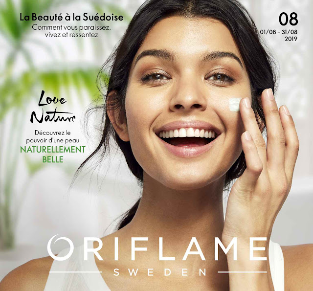 catalogue oriflame tunisie aout 2019