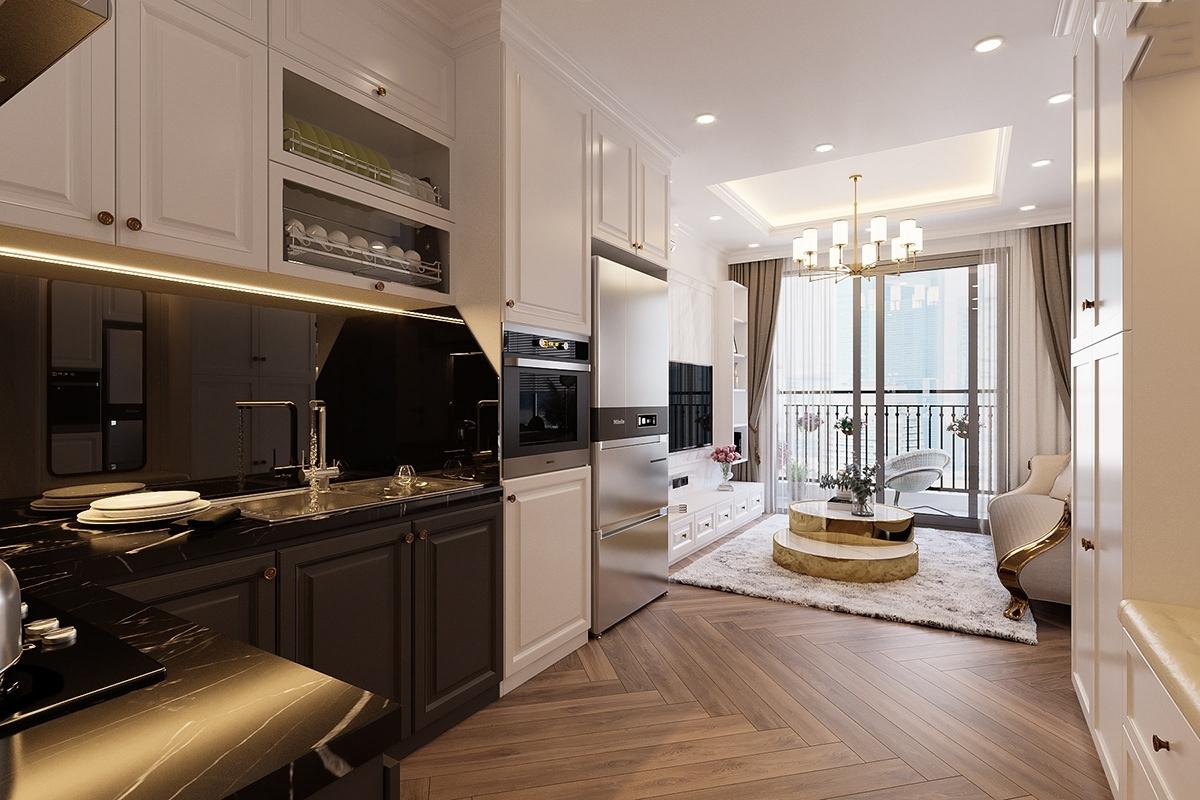 Thiết kế 3D căn hộ 65m2 Vinhomes Smart City