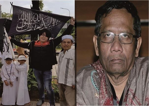 Dulu Aktivis Tionghoa Ini Tantang Mahfud MD Kibarkan Bendera Tauhid, Kini Dia Masuk Islam