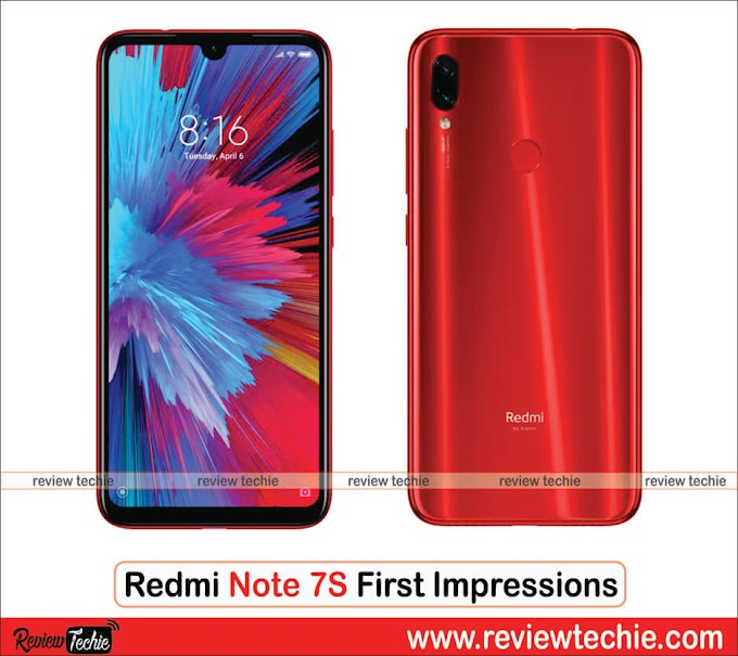 Redmi Note 7S First Impressions