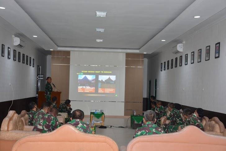 Danrem 141/Tp, Paparan Giat TMMD Untuk Wilayah Korem