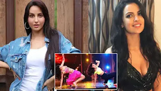 Nora Fatehi and Natasa Stankovic dance fight over Saki Saki Song Video Viral
