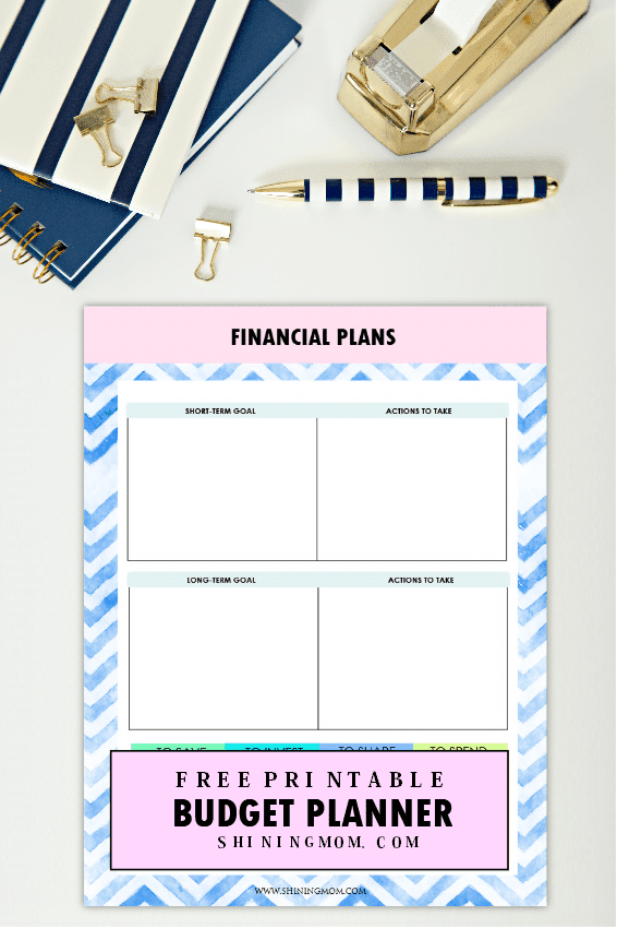 Musings of an Average Mom: Free Budget Printables