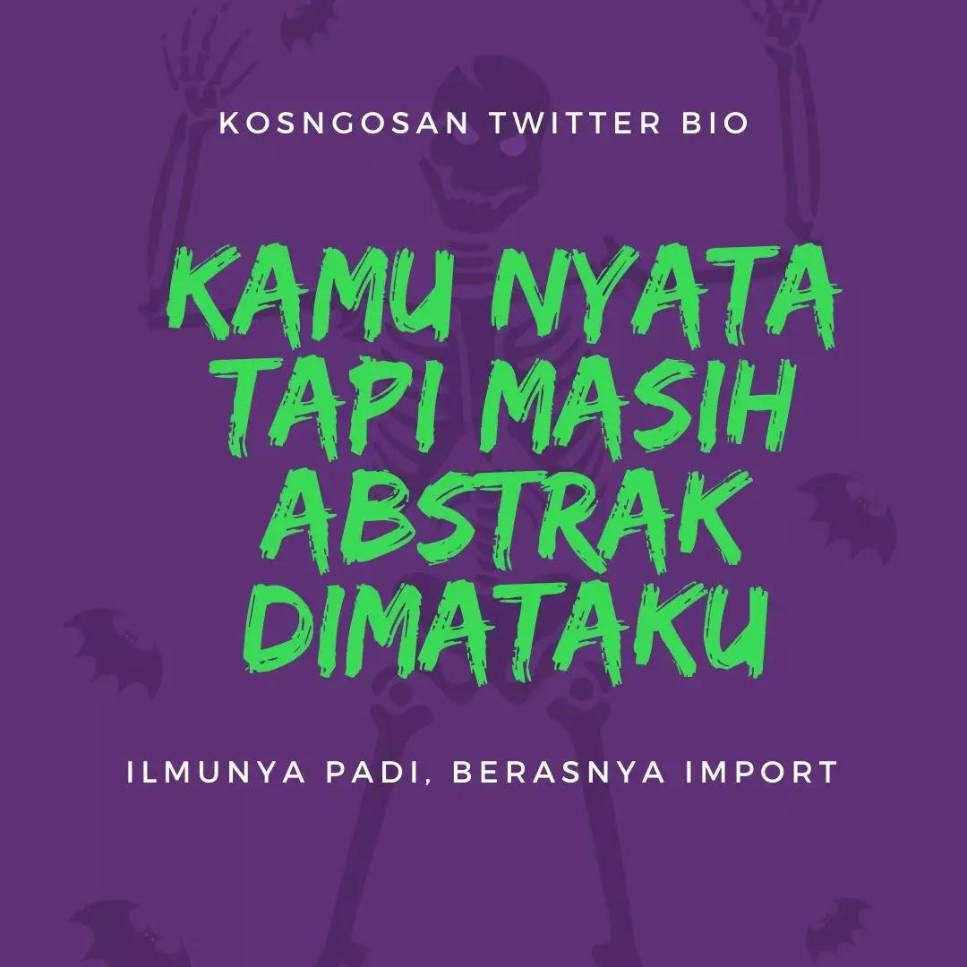 kata bio twitter