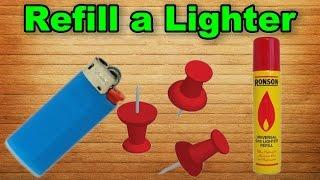 Як наповнити запальничку? Легкий спосіб