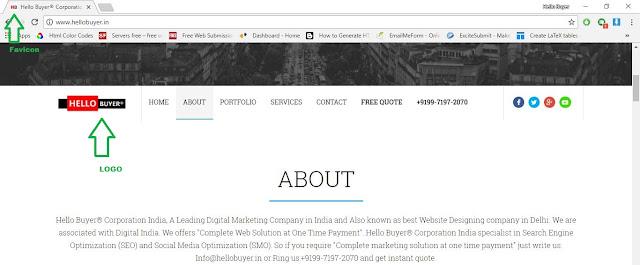 Favicon Designing Company in Delhi