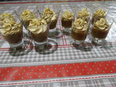 mousse chocolat noir chantilly mascarpone pâte de spéculoos