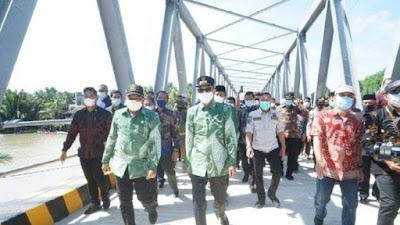 Dibangun 25 Tahun Lalu, Jembatan Watu Akhirnya Jadi Beton