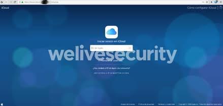 Página apócrifa de iCloud busca robar credenciales de acceso de la víctima