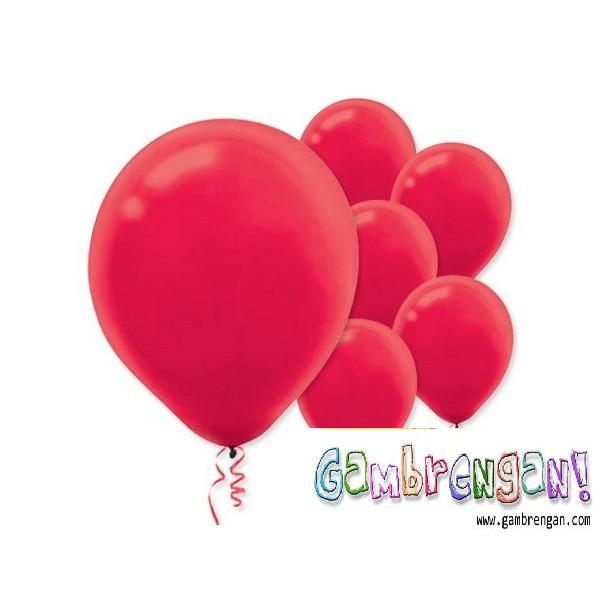 Balon dekorasi merahGreen