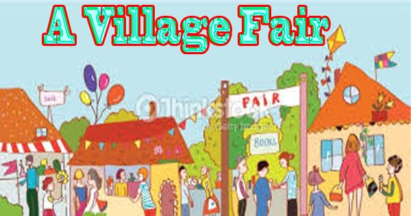 A visit to a village fair essay