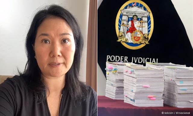 Keiko Fujimori sobre prisión, enviare carta a organismos internacionales